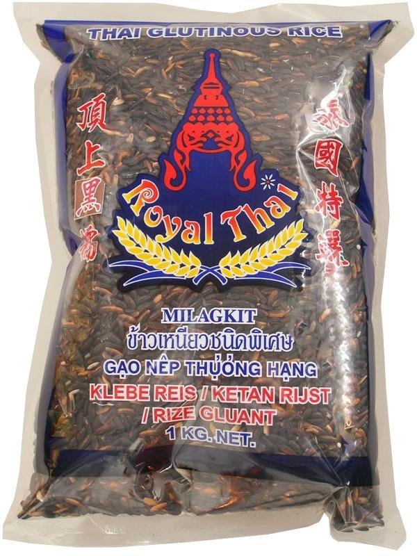 4 89 1kg 1kg royal thai schwarzer klebreis klebereis glutinous rice 8717677860890 ebay. Black Bedroom Furniture Sets. Home Design Ideas